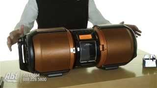 Download Sharp Portable Boombox GXM10 Overview Video