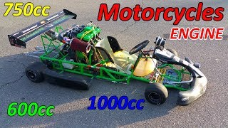Download Go-Kart with Motorcycle Engine Video