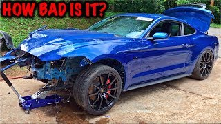 Download Rebuilding A Wrecked 2017 Mustang GT PART 2 Video