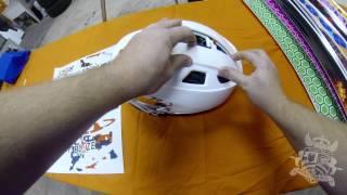 Download Cascade R Lacrosse Helmet Wrap Installation by StickerBomb Video