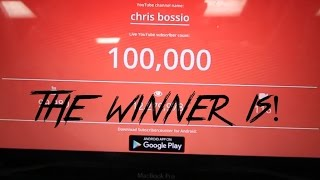 Download The 100k subscriber giveaway WINNER is....... Video
