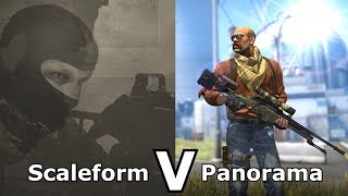 Download CS:GO's Panorama UI VS Older Versions Video