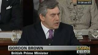 Download Prime Minister Gordon Brown Address to Congress Video
