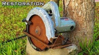 Download Very Old Circular Saw Restoration Video