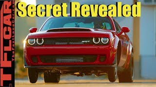Download Secret to the Dodge Demon's Record Setting 9.65 Quarter Mile Revealed Video