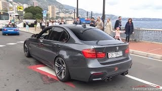 Download BMW M3 F80 w/ Akrapovic Exhaust - Too Loud for the police ! Video