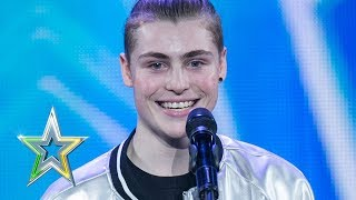 Download Zacc shows the IGT judges how to 'Vogue' | Auditions Week 1 | Ireland's Got Talent 2018 Video