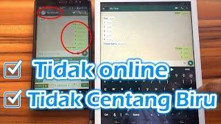 Download Cara WhatsApp Tidak Terlihat Online + Tidak Centang Biru Tanpa Install Aplikasi Tambahan Video