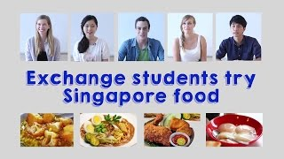 Download International Exchange Students Try Singapore Food for the First Time Video