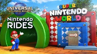 Download Super Nintendo World's Rides & Attractions at Universal Orlando - ParksNews Video