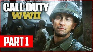 Download Call of Duty WW2 Campaign Gameplay Walkthrough, Part 1! (COD WW2 PS4 Pro Gameplay) Video