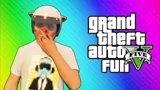 Download GTA 5 Online Funny Moments - Truck Flip Glitch, Beefy Bills, Mountain Rescue, Kidnapped by a Pig! Video