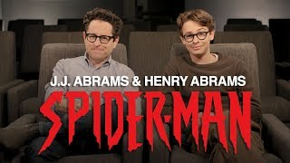 Download J.J. Abrams & Henry Abrams' Spider-Man Announcement | Marvel Comics Video