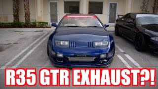 Download Nissan Fairlady Z with R35 GTR Exhaust?! Unbelievable Sounds Video