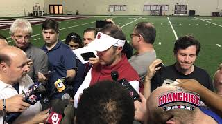 Download Lincoln Riley Media Availability Following Mike Stoops Firing Video