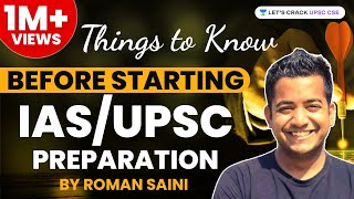 Download Things to Know Before Starting IAS/UPSC Preparation by Roman Saini - Unacademy Video