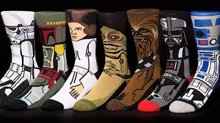 Download Here's What $280 Worth of Star Wars Socks Looks Like - Up At Noon Live Video