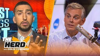 Download Lakers can rebuild with 4th pick, Nick Wright says Warriors are better without KD   NBA   THE HERD Video