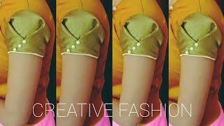Download Beautiful Origami Sleeves design,Very easy.हिंदी। Video