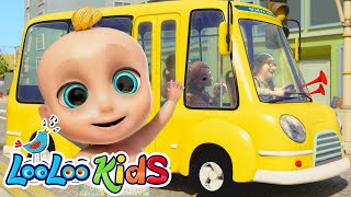 Download 🚍 The Wheels On The Bus 🚌 Fun Songs for Children | LooLoo Kids Video