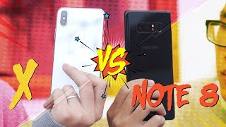 Download So sánh chi tiết iPhone X vs Galaxy Note 8 Video