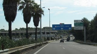 Download France: A8 Cannes / Nice Video