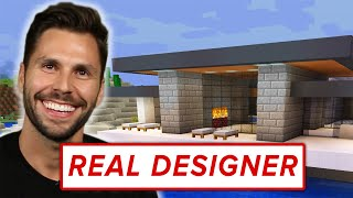 Download A Real Architect Builds A Mansion In Minecraft • Professionals Play Video