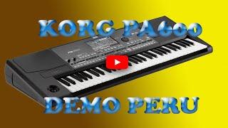 Download KORG PA 600 MIX LOBO CUMBIA NORTEÑA PERÚ Video
