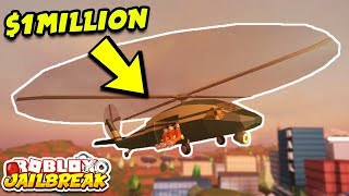 Download NEW MILITARY HELICOPTER UPDATE! 1 MILLION DOLLARS! (Roblox Jailbreak 1 Year Update) Video