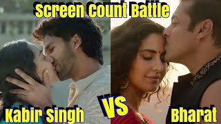 Download Bharat Vs Kabir Singh Screen Count Update l Kabir Singh Screens Increasing After Good Response Video