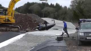 Download Building a Shed (25) Concreting and Preparing. Video