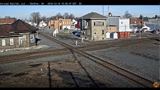 Download Deshler, Ohio USA - Virtual Railfan LIVE Video