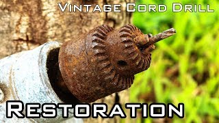 Download Vintage Cord Drill Restoration [National Brand - Unknown Year] Video