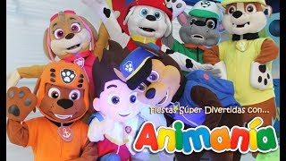 Download Paw Patrol Intro Latino - Animania Show Video