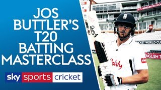 Download Jos Buttler T20 Batting Masterclass | The basics of being a world class batsman! Video