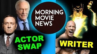 Download Kevin Spacey replaced by Christopher Plummer, Black Adam movie Screenwriter Video