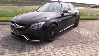 Download Mercedes-Benz C63 S AMG New 2017 Start Up In Depth Review Interior Exterior Video