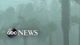 Download Hurricane Michael makes landfall Video