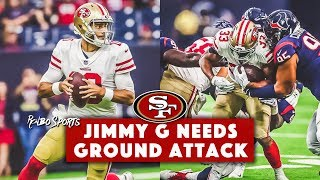 Download Live: Jimmy Garoppolo Dominant vs Texans   49ers Run Game Continues To Struggle Video