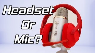 Download Gaming Headset Or Microphone - Do You Need A Condenser Mic? Video