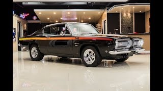 Download 1968 Plymouth Baracuda For Sale Video
