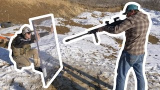 Download Will $15000 Of Bullet Proof Glass Stop A 50 Cal? Video