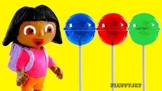 Download Dora The Explorer Stop Motion Play Doh kids Family Fun Candy shop Pretend Playtime Episode Video