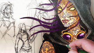 Download STEAMPUNK DEMIGOD - Character Design Session! Video