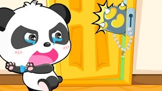 Download Baby Panda | Safety At Home - Kids Learn Choosing Right Food and Safety Tips When Staying home Alone Video