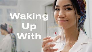 Download We Spent the Morning with Jhené Aiko, Her Tarot Cards, and Her Beloved Cats | Waking Up With | ELLE Video