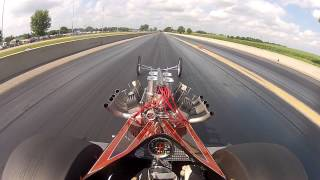 Download Hellion Front Engine Dragster vs. Don's Speed Shop Altered - Union Grove 2013 Video