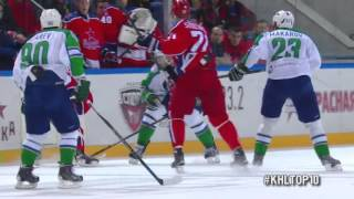 Download Top 10 First Half KHL Hits / Лучшие силовые приемы первой половины сезона КХЛ Video