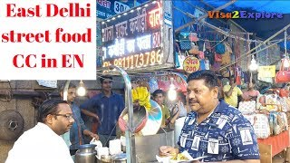 Download East Delhi famous street food | Puri Breakfast, Kachori, Tikki, Gol gappe & more Video