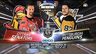 Download 2017 Stanley Cup Playoffs, Eastern Conference Final: Penguins vs. Senators (Game 5, 5/21/2017) Video